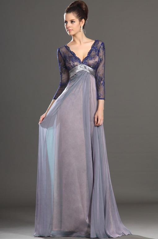 длинное платье pattern женщины
